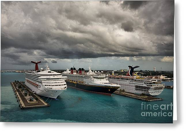 Carnival Glory Greeting Cards - Sensation Disney Destiny Greeting Card by Mark Baker