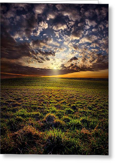 Geographic Greeting Cards - Sense of Wonder Greeting Card by Phil Koch