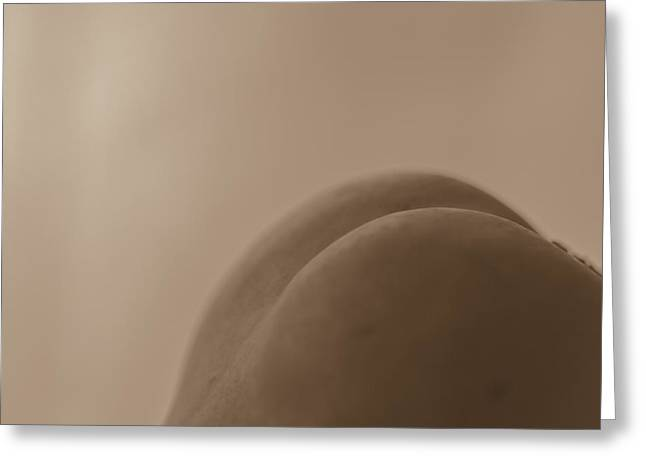 Artistic Photography Greeting Cards - Sensual Greeting Card by Constance Fein Harding