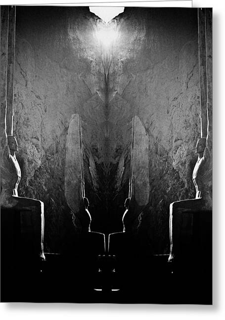 Dam Framed Prints Greeting Cards - Sentries at Madre Vooh Greeting Card by Thomas Lavoie