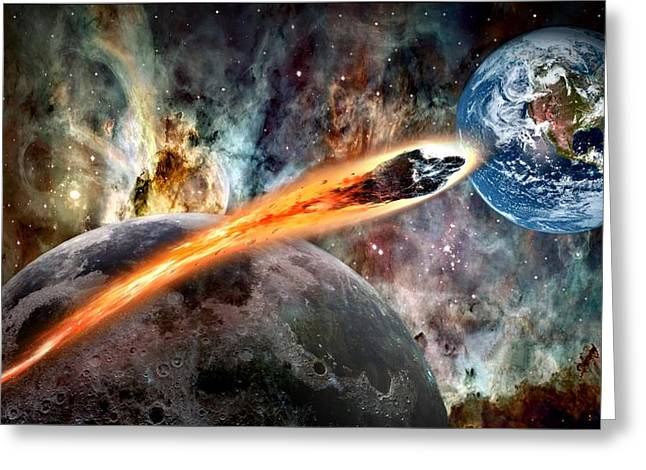 Doomsday Greeting Cards - Sept 24 2015 Greeting Card by Bill Stephens