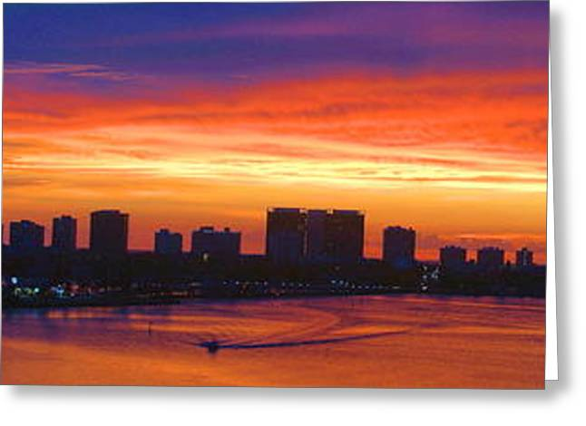 Sinrise Greeting Cards - September Sunrise Greeting Card by David Call