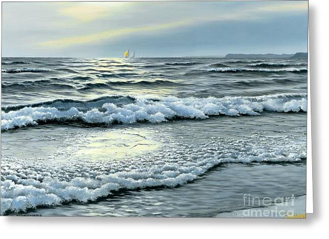 September Winds Greeting Card by Michael Swanson