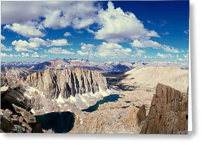 Sequoia National Park Greeting Cards - Sequoia National Park, California Greeting Card by Panoramic Images