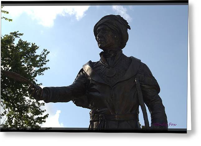Northeastern University Greeting Cards - Sequoyah Greeting Card by Wendy Fox