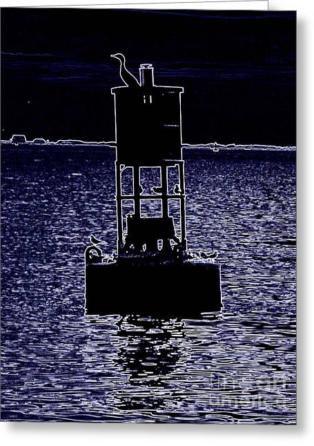 Seacape Digital Art Greeting Cards - Surreal Greeting Card by Andy Englehart
