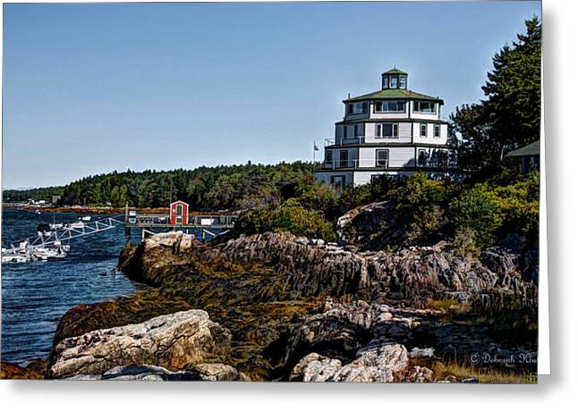Old Maine Houses Greeting Cards - Serendipity Greeting Card by Deborah Klubertanz