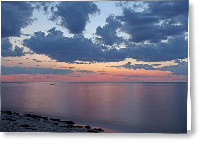 Harbor Sesuit Harbor Greeting Cards - Serene Cape Cod Bay Greeting Card by Juergen Roth