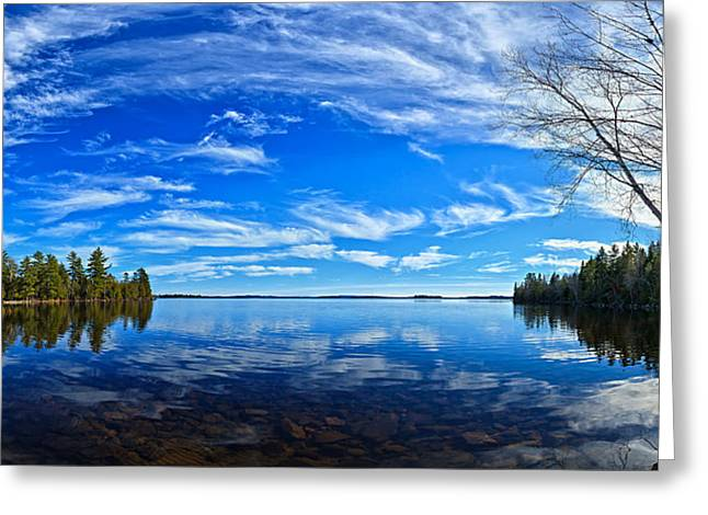 Abeautifulsky Greeting Cards - Serene Reflections Greeting Card by Bill Caldwell -        ABeautifulSky Photography