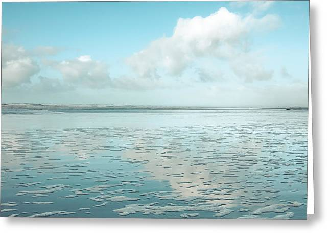 Ocean Photography Greeting Cards - Serene Seascape Greeting Card by Lucid Mood