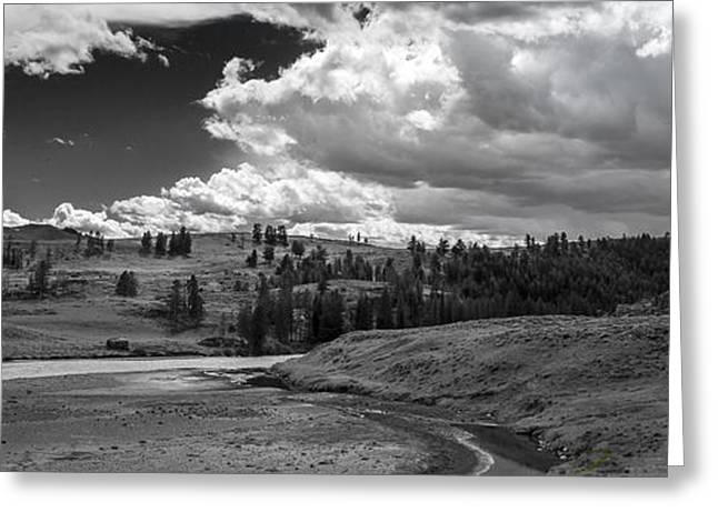 Original Photographs Greeting Cards - Serene Valley Greeting Card by Jon Glaser