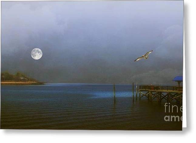 Best Ocean Photography Greeting Cards - Serenity Bay Greeting Card by Tom York Images