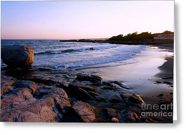 York Beach Greeting Cards - Serenity Greeting Card by Christina Magnotta