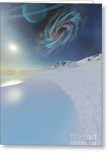 Star Valley Greeting Cards - Serenity Greeting Card by Corey Ford