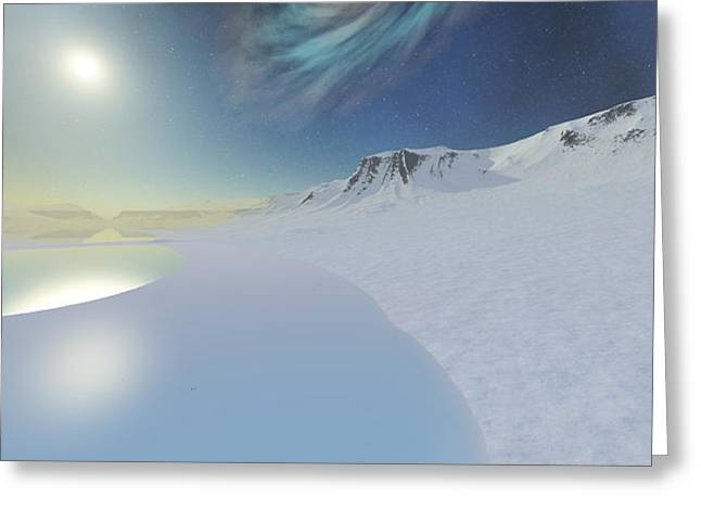 Serenity Greeting Card by Corey Ford