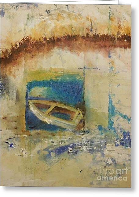 Drifter Greeting Cards - Serenity Drifter Greeting Card by Gary Snyder