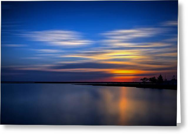Aperture Greeting Cards - Serenity Greeting Card by Jason Archie