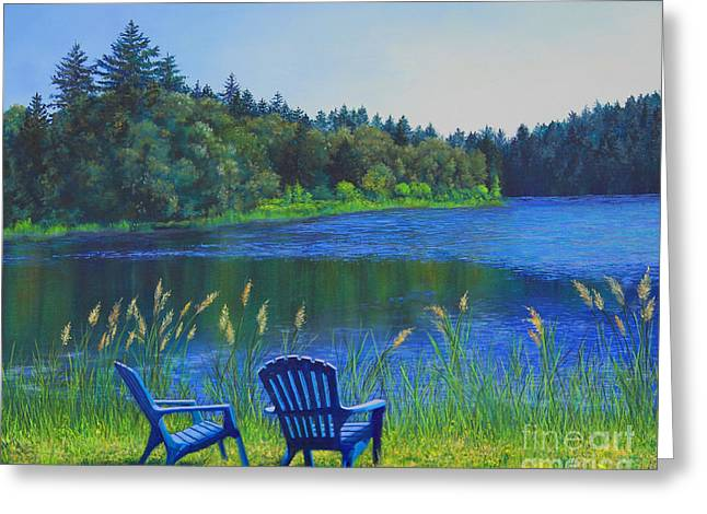 Serenity Greeting Card by Jeanette French