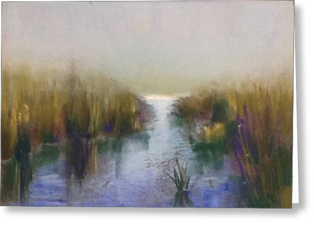 Serenity Greeting Card by Judy Albright