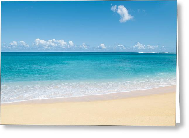 Beach Photographs Greeting Cards - Serenity Greeting Card by Nastasia Cook