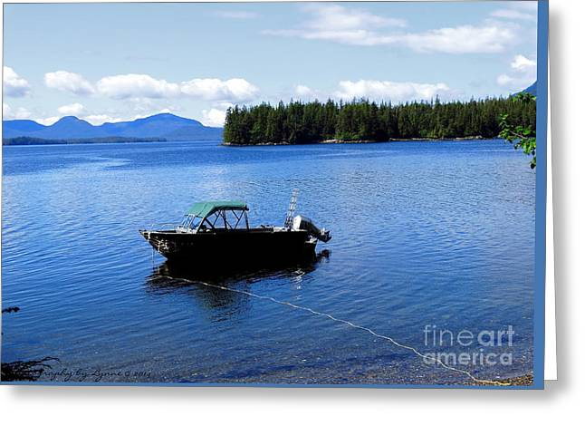 Grey Clouds Greeting Cards - Serenity Outside of Ketchikan AK Greeting Card by Gena Weiser