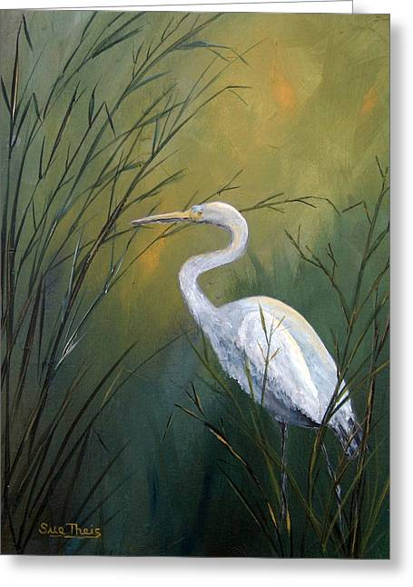 Serenity Greeting Card by Suzanne Theis