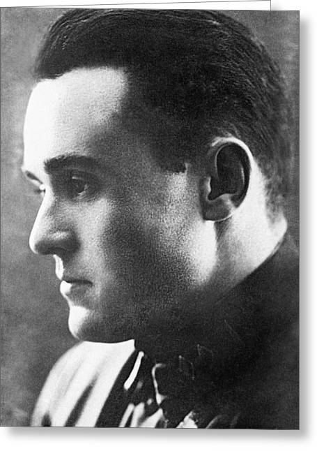 1900s Portraits Greeting Cards - Sergei Korolev in 1934 Greeting Card by Science Photo Library