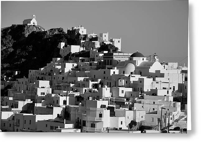 Greece Greeting Cards - Serifos island Greeting Card by George Atsametakis