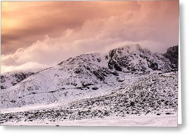 Snowy Day Greeting Cards - Serra da Estrela - Portugal 2 Greeting Card by Rui Marques