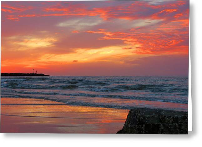 East Dennis Greeting Cards - Sesuit Harbor At Dusk Greeting Card by Dianne Cowen