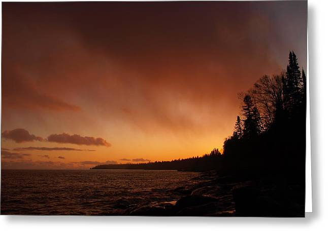 Peterson Nature Photography Greeting Cards - Set Fire to the Rain Greeting Card by James Peterson