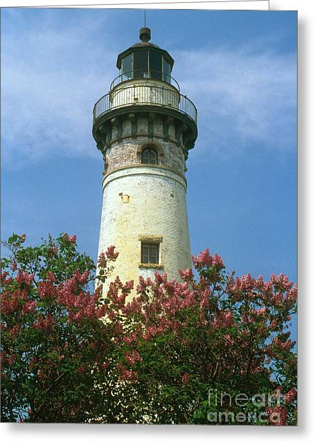 Choix Greeting Cards - Seul Choix Point Light, Mi Greeting Card by Bruce Roberts
