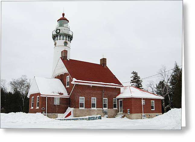 Choix Greeting Cards - Seul Choix Point Lighthouse Greeting Card by Michael Peychich