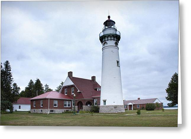 Choix Greeting Cards - Seul Choix Point Lighthouse Greeting Card by Randall Nyhof