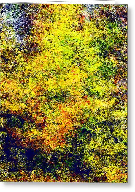 Seurat Greeting Cards - Seurat Autumn Greeting Card by Patrick Derickson
