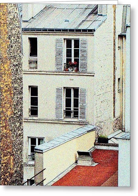 Seurat Greeting Cards - Seurats Paris Greeting Card by Ira Shander