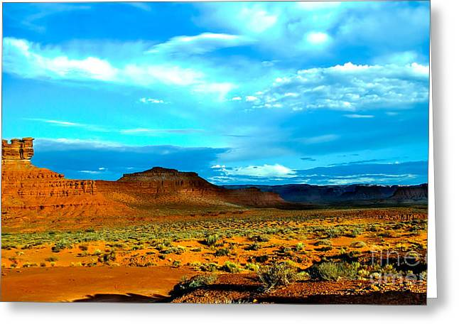 Monolith Greeting Cards - Seven Gods II Greeting Card by Robert Bales