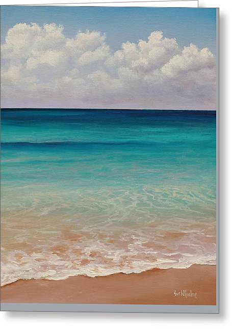Eve Greeting Cards - Seven Mile Beach Greeting Card by Eve  Wheeler