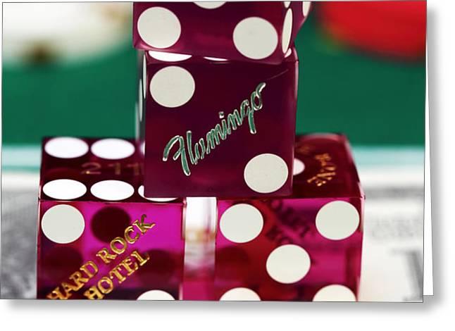 Seven on Ten Greeting Card by John Rizzuto