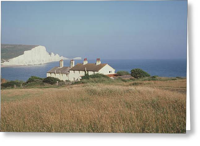 Seven Sisters Dover England Greeting Card by Panoramic Images