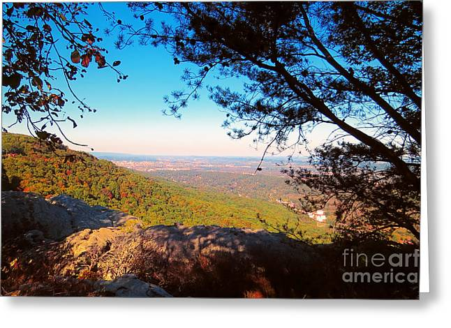 Nature Greeting Cards - Seven State View Greeting Card by Dawn Gari