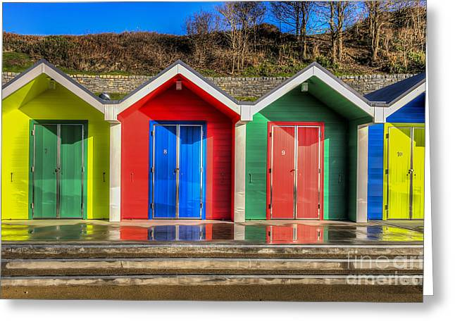 Vale Greeting Cards - Seven To Ten Greeting Card by Steve Purnell