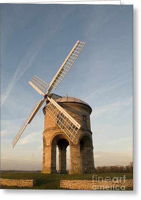 Wark Photographs Greeting Cards - Seventeenth Century Mill Greeting Card by Anne Gilbert