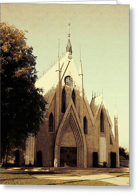 Christ Sermon Greeting Cards - Seventh Day Church Greeting Card by Glenn McCarthy Art and Photography