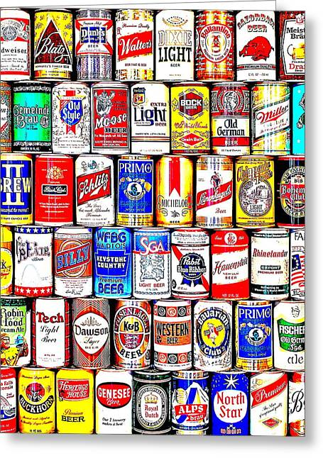 Pbr Greeting Cards - Seventies Suds Greeting Card by Benjamin Yeager