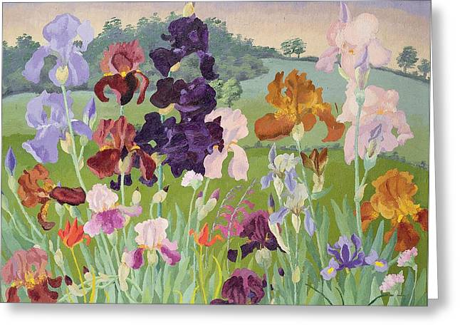 Scented Greeting Cards - Several Inventions Greeting Card by Sir Cedric Morris