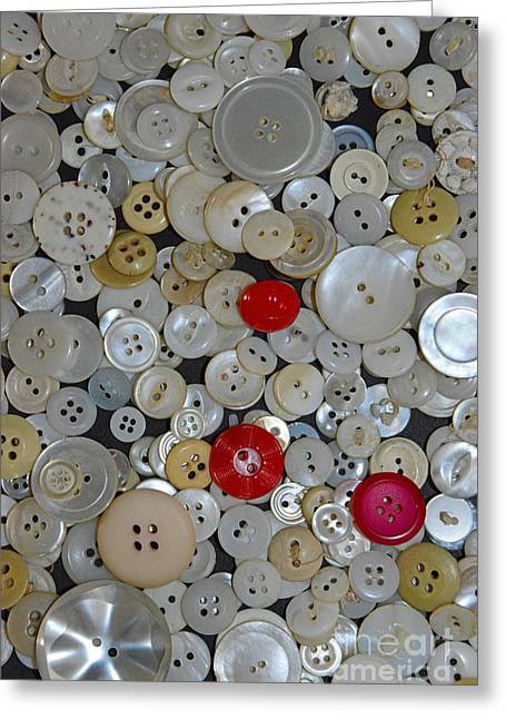 Sewing Room Greeting Cards - Sewing - When You Need a Button Greeting Card by Paul Ward