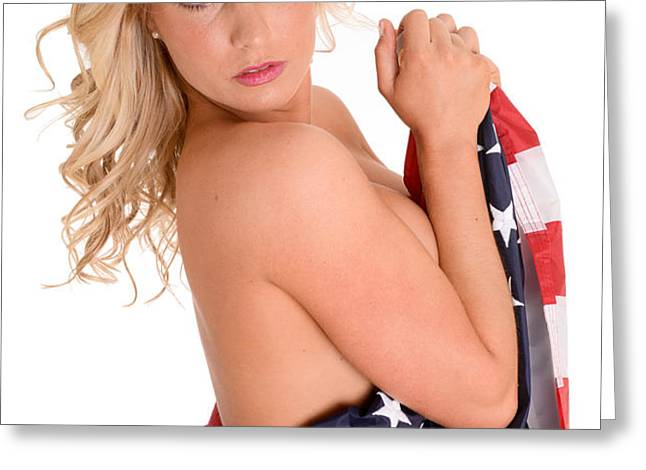 Sexy USA Greeting Card by Jt PhotoDesign