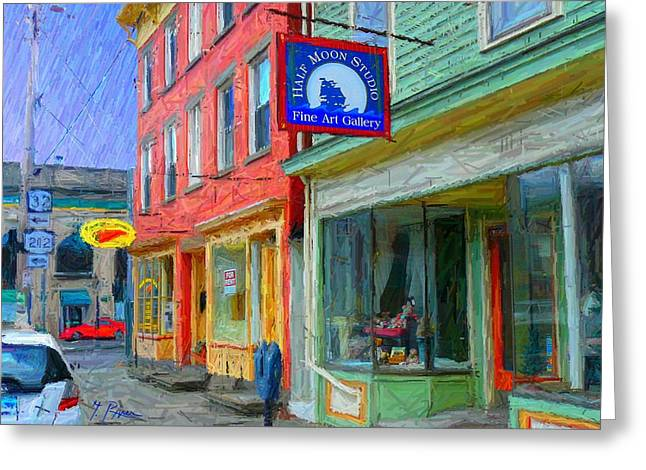 Saugerties Greeting Cards - Sg - 294 Greeting Card by Glen River