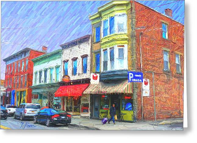 Saugerties Greeting Cards - Sg - 417 Greeting Card by Glen River